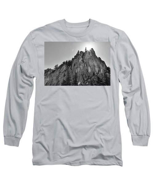 Long Sleeve T-Shirt featuring the photograph Narrows Pinnacle Boulder Canyon by James BO Insogna