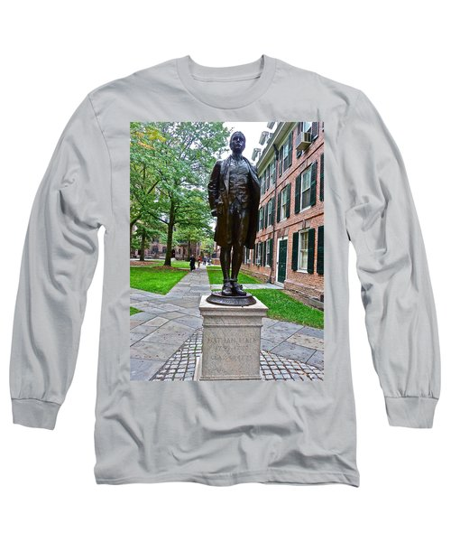 Nathan Hale Long Sleeve T-Shirt