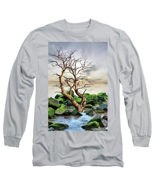 Natural Surroundings Long Sleeve T-Shirt by Angel Jesus De la Fuente
