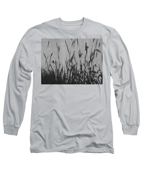 Long Sleeve T-Shirt featuring the photograph Nature As Shadow by Lenore Senior