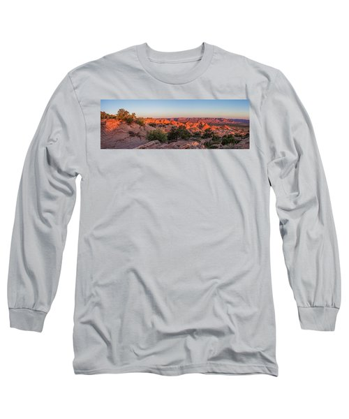 Navajo Land Morning Splendor Long Sleeve T-Shirt