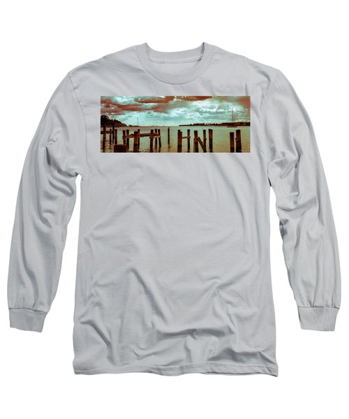 Naval Academy Sailing School Long Sleeve T-Shirt