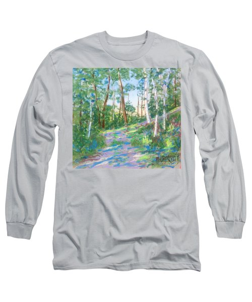 Near The Dingle Tower Halifax  Long Sleeve T-Shirt by Rae  Smith