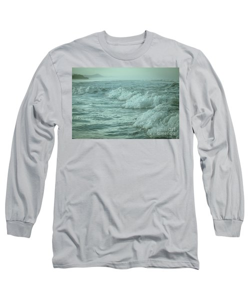 Near Waves Long Sleeve T-Shirt by Iris Greenwell