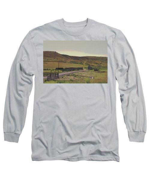 Nebraska Farm Life - The Paddock Long Sleeve T-Shirt