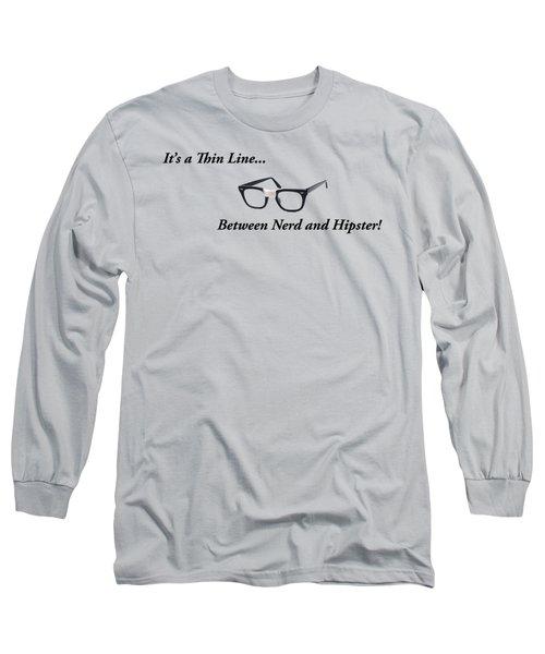 Nerd Or Hipster Long Sleeve T-Shirt