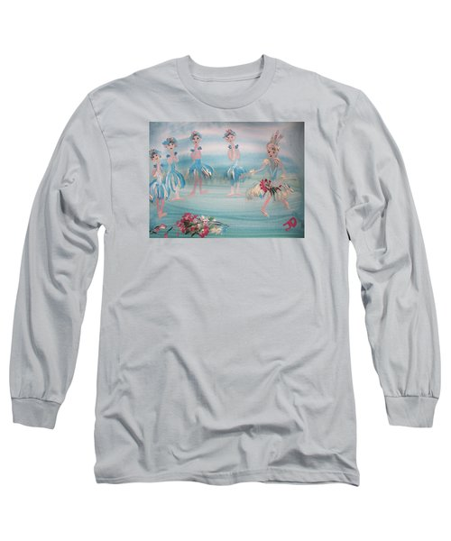 New Ballet Curtain Call Long Sleeve T-Shirt by Judith Desrosiers