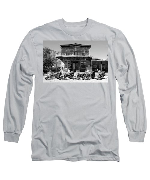 New Horses At Bedrock Long Sleeve T-Shirt