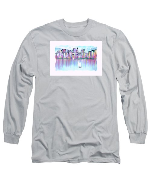New York City Scape Long Sleeve T-Shirt