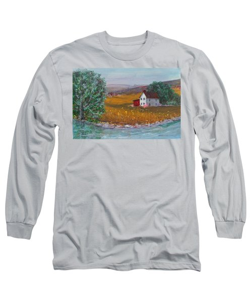New York Lilacs Long Sleeve T-Shirt