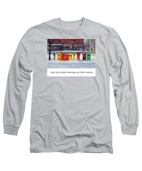 New York Streetscapes 2016 Long Sleeve T-Shirt