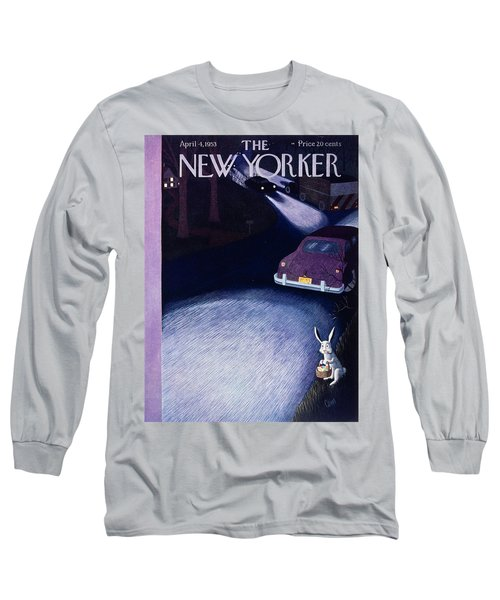 New Yorker April 4 1953 Long Sleeve T-Shirt