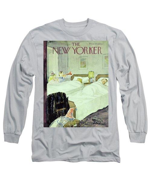 New Yorker December 29 1956painting Long Sleeve T-Shirt
