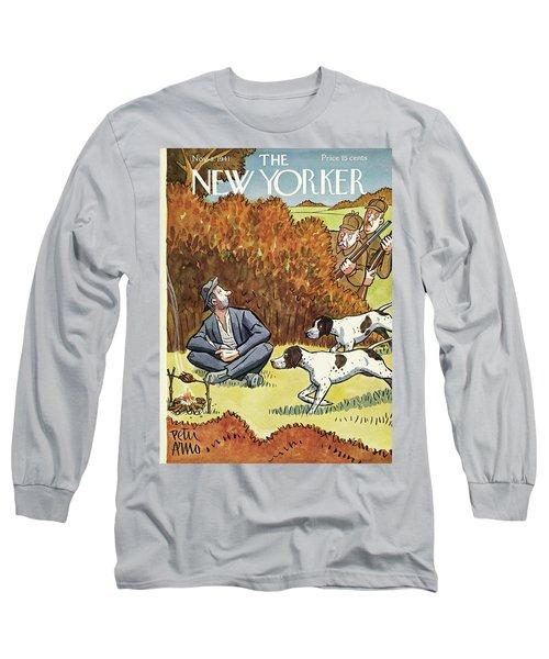New Yorker November 8 1941 Long Sleeve T-Shirt