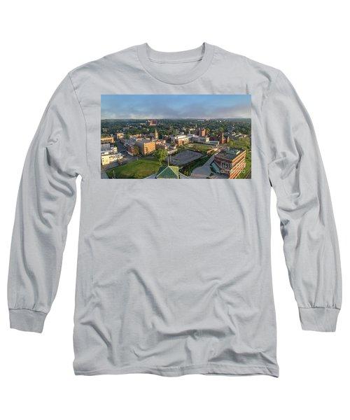 Newburgh New York At Sunrise Long Sleeve T-Shirt