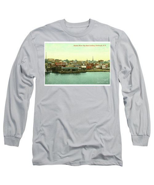 Newburgh Steamers Ferrys And River - 15 Long Sleeve T-Shirt