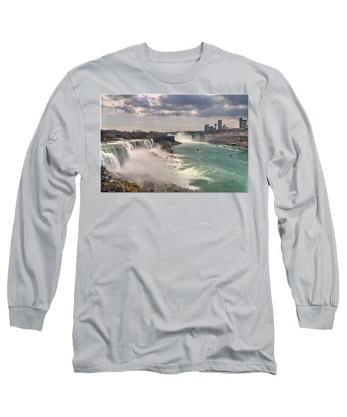 Niagra Waterfalls Long Sleeve T-Shirt