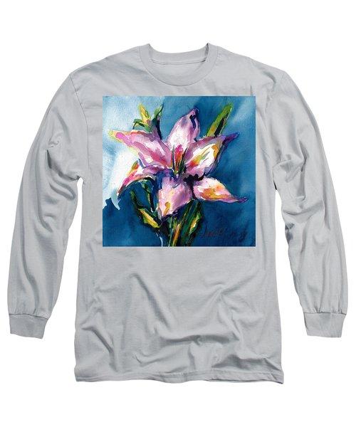 Night Lily Long Sleeve T-Shirt
