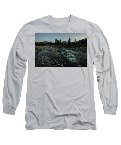 Nightfall In Montana Long Sleeve T-Shirt