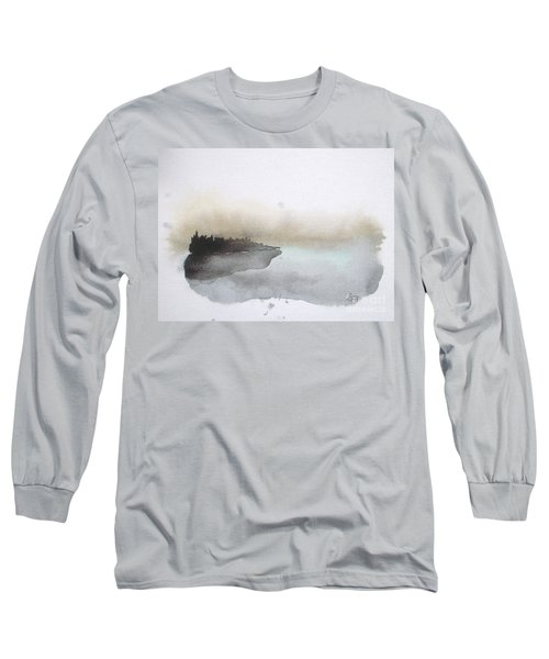 Nightfall On The Lake  Long Sleeve T-Shirt