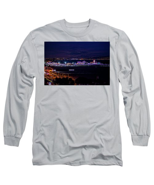 Nite Life On The Pier Long Sleeve T-Shirt