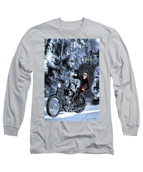 No Cat Woman..this Is Not A Date Long Sleeve T-Shirt