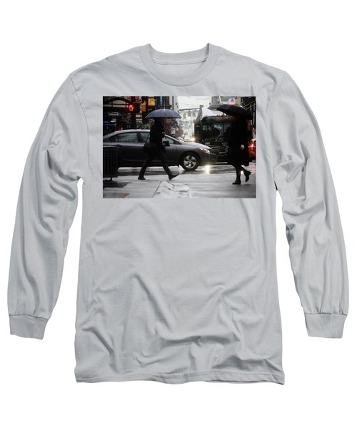 No Trees Sneeze  Long Sleeve T-Shirt by Empty Wall