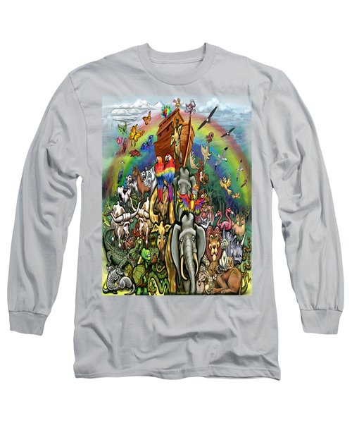 Noah's Ark Long Sleeve T-Shirt by Kevin Middleton
