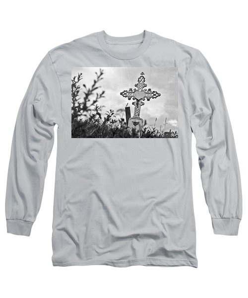 Long Sleeve T-Shirt featuring the photograph Nome by Laurie Stewart