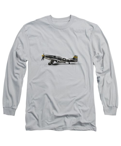 North American P-51 Mustang Long Sleeve T-Shirt