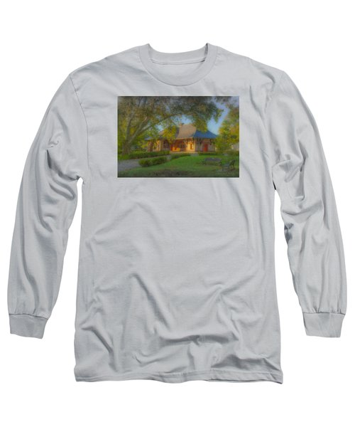 North Easton Train Station Long Sleeve T-Shirt
