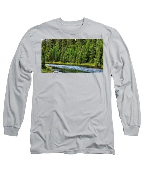 North Fork Of The Flathead Long Sleeve T-Shirt