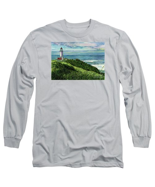North Head Lighthouse And Beyond Long Sleeve T-Shirt