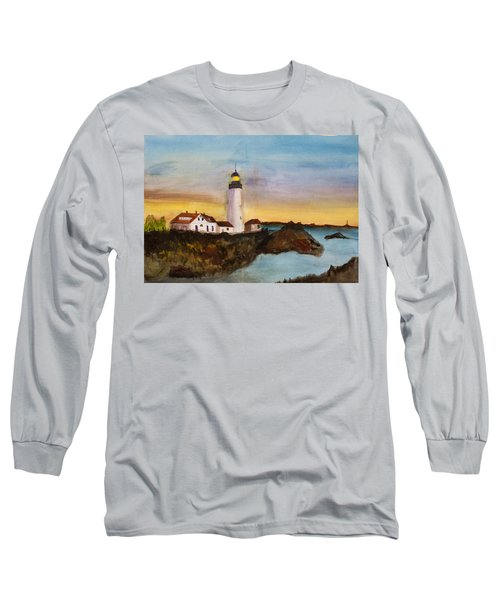 North Truro Light House Cape Cod Long Sleeve T-Shirt