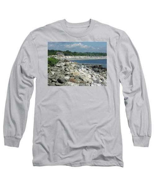 Northeast Us, Atlantic Coast, Rye Nh Long Sleeve T-Shirt by Betty Denise