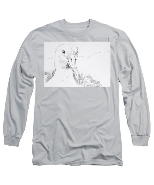 Northern Royal Albatross Long Sleeve T-Shirt