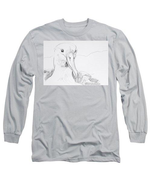 Northern Royal Albatross Long Sleeve T-Shirt