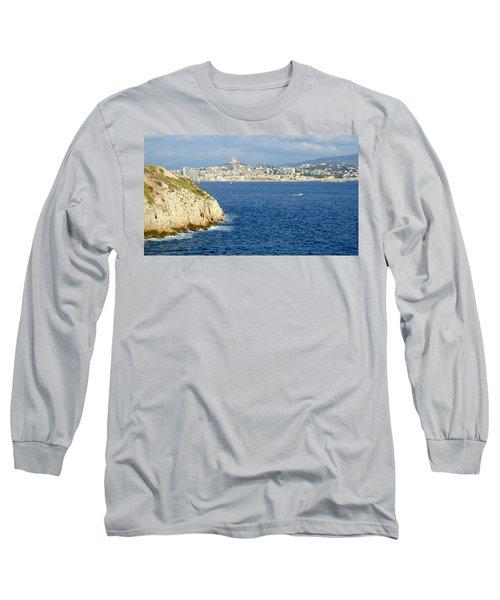 Notre Dame De La Garde Marseille  Long Sleeve T-Shirt