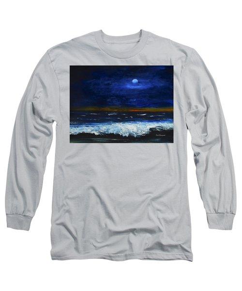 November Sunset At The Beach Long Sleeve T-Shirt