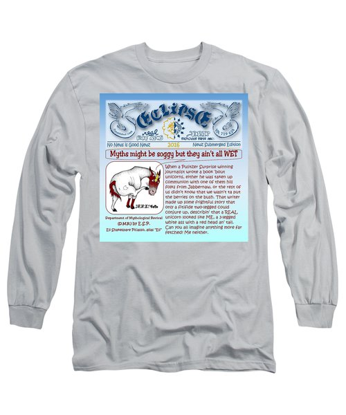Real Fake News By Esp Long Sleeve T-Shirt