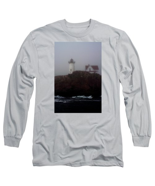 Long Sleeve T-Shirt featuring the photograph Fog Lifting by Richard Ortolano