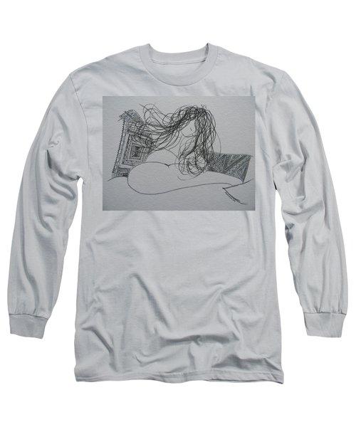 Nude I Long Sleeve T-Shirt