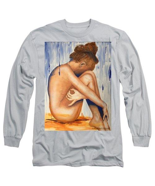 Nude In The Rain Long Sleeve T-Shirt