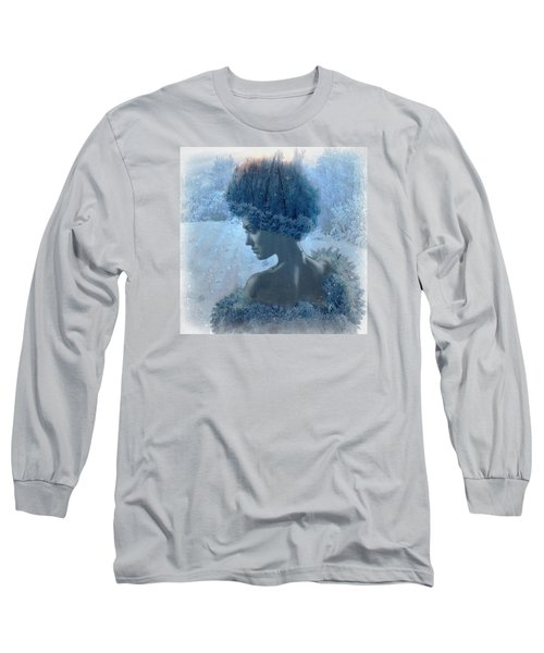 Nymph Of January Long Sleeve T-Shirt by Lilia D