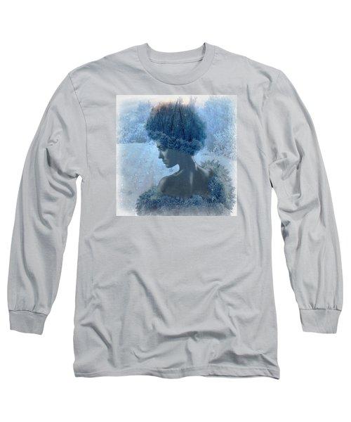 Nymph Of January Long Sleeve T-Shirt