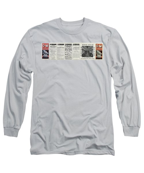 O And M Timetable Long Sleeve T-Shirt