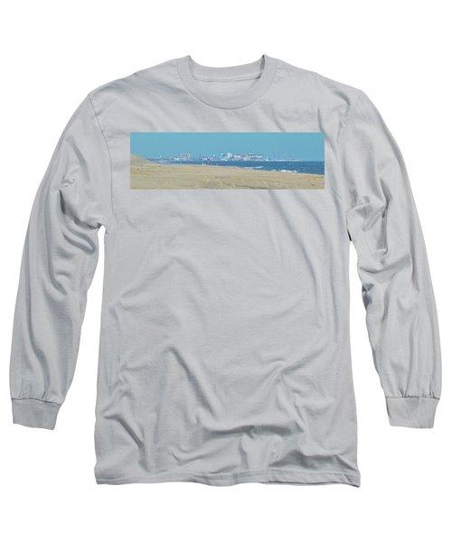 Oc Inlet Color Long Sleeve T-Shirt by William Bartholomew