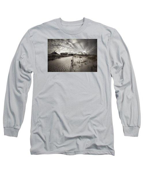 Ocean City Bw Long Sleeve T-Shirt