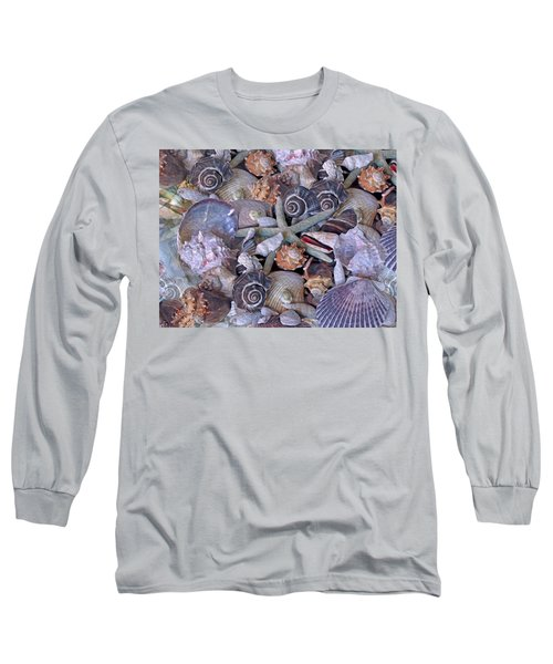 Ocean Gems 11 Long Sleeve T-Shirt by Lynda Lehmann