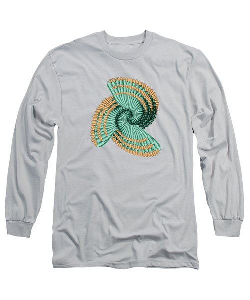 Octopus Shell Abstract Long Sleeve T-Shirt